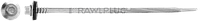 Саморез со сверлом 15 мм, органическое покрытие Delta Protekt KL101, с шайбой EPDM R-ONR-55/63211A19