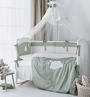 Комплект в кроватку Perina Бамбино Олива 6 предметов