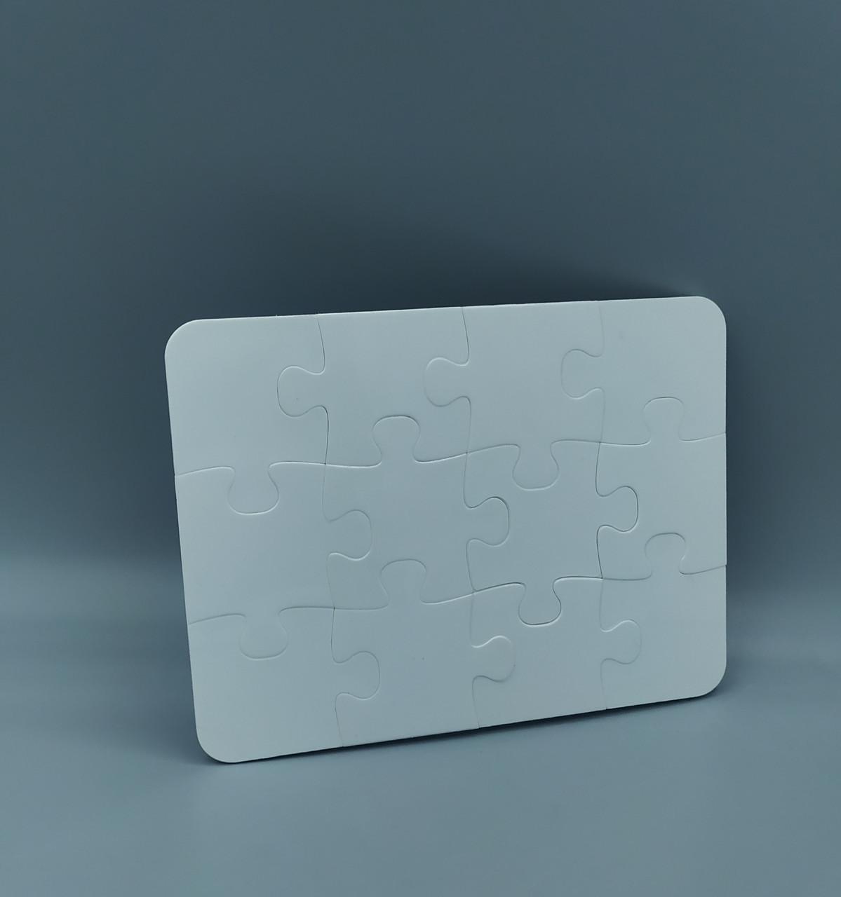 Пластиковый пазл для сублимации А6