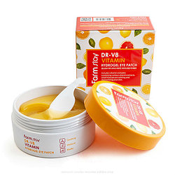 Патчи для век FarmStay DR-V8 Vitamin Hydrogel Eye Patch