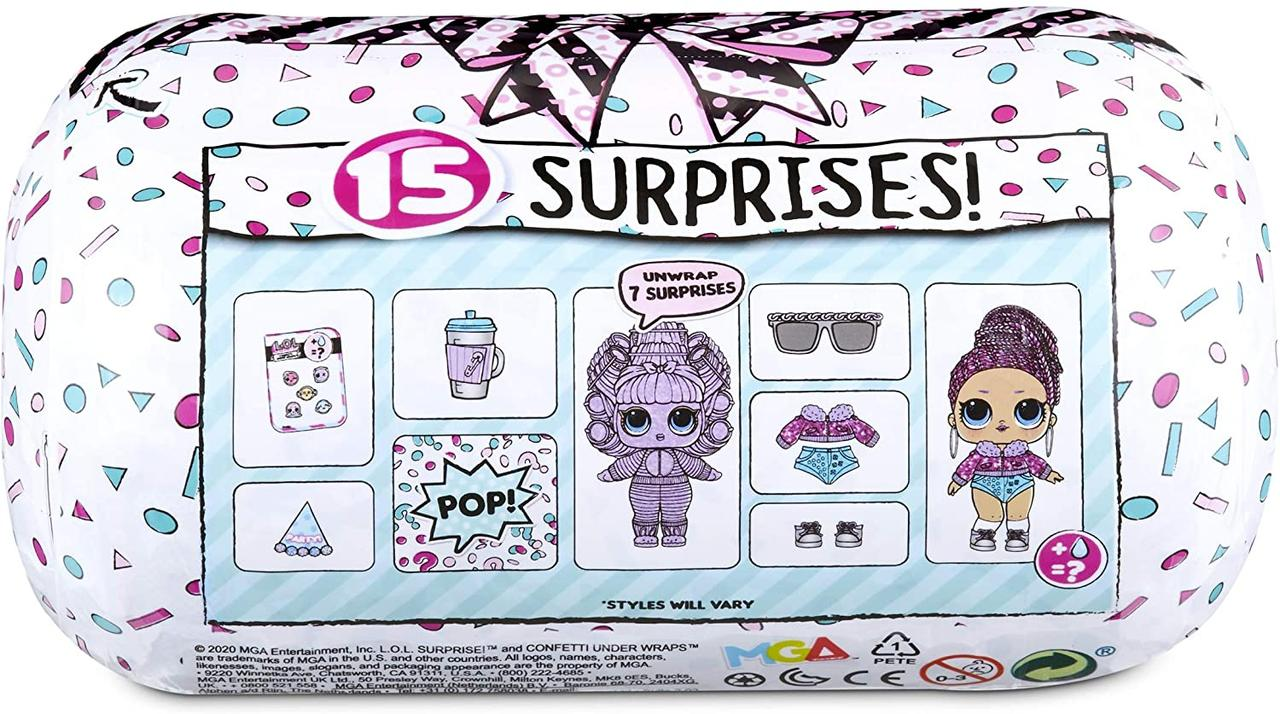 Кукла L.O.L. Surprise Confetti Under Wraps - фото 3