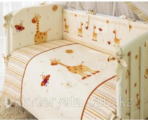 PERINA Комплект постельного белья 4 предмета КРОХА Жирафики
