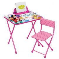 """Комплект """"Disney 2"""" Принцесса. (стол+стул мяг.+пенал)"""