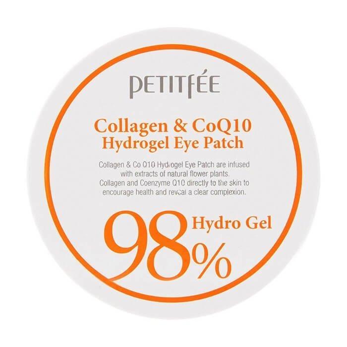 Патчи для глаз Petitfee Collagen & Q10 Hydrogel Eye Patch