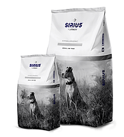 Сухой корм для собак всех пород Sirius утка с овощами