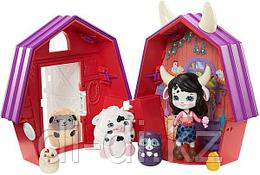 Enchantimals Secret Besties Cambrie Cow Farmhouse.