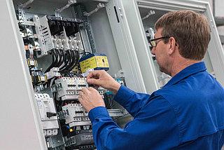 Контрольно-исполнительные приборы и автоматика безопасности в котельной