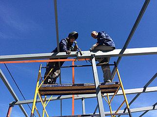 Металлоконструкция для лестницы