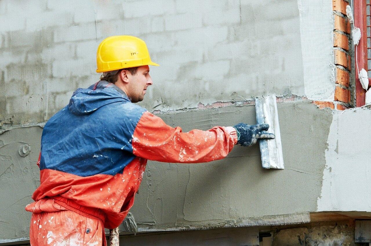 Проведение фасадных работ