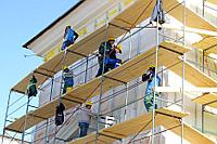 Фасадные работы утепление