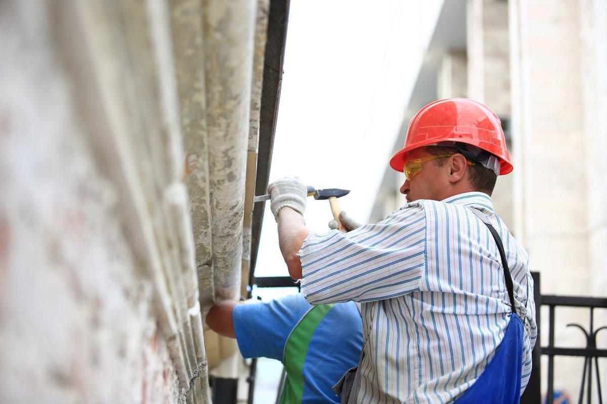 Текущий ремонт фасада многоквартирного дома