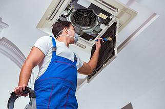 Сервисное обслуживание систем вентиляции и кондиционирования