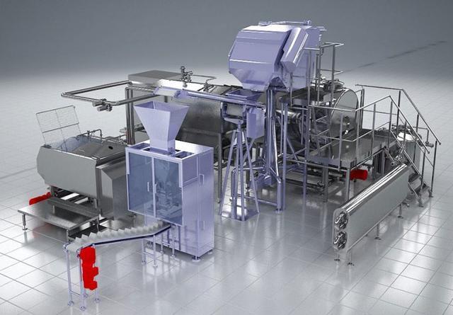 линия производственного оборудования