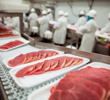 Линия производства мясной промышленности