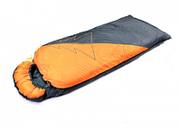Спальный мешок-одеяло левый, оранжево-серый (Greenway, Казахстан)