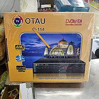 Ресивер эфирный - OTAU-TV DVB-T2/c. Приёмник отау тв новые в магазине