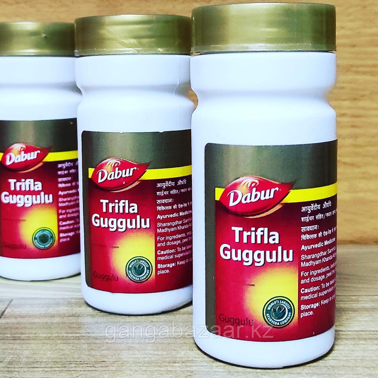 Трифала Гуггул Дабур (Trifla Guggulu DABUR) - очищение организма , 80 таб