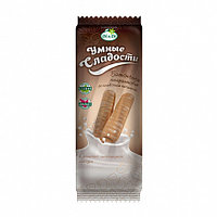 Батончики Умные сладости в молочно-шоколадной глазури со сливочной начинкой 20гр