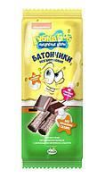 Батончики Губка Боб с шоколадной начинкой 20 г