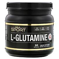 California Gold Nutrition, AjiPure, порошок L-глютамина, без глютена, 454 г