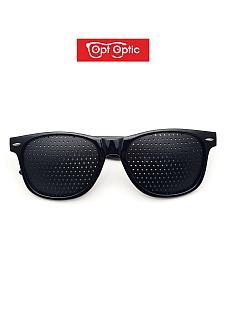 Очки тренажеры / перфорационные очки в Пластике