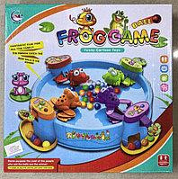 Настольная игра Голодные лягушки Frog game
