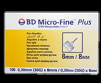 Иглы Микро Файн 8 мм 30G № 100