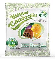 Конфеты чернослив с апельсином в шоколадной глазури 210г