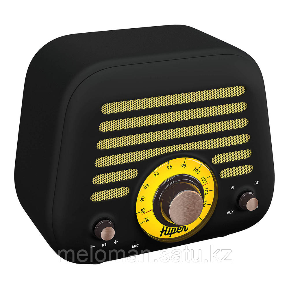 Портативная акустика HIPER RETRO L H-OT5 Black - фото 2