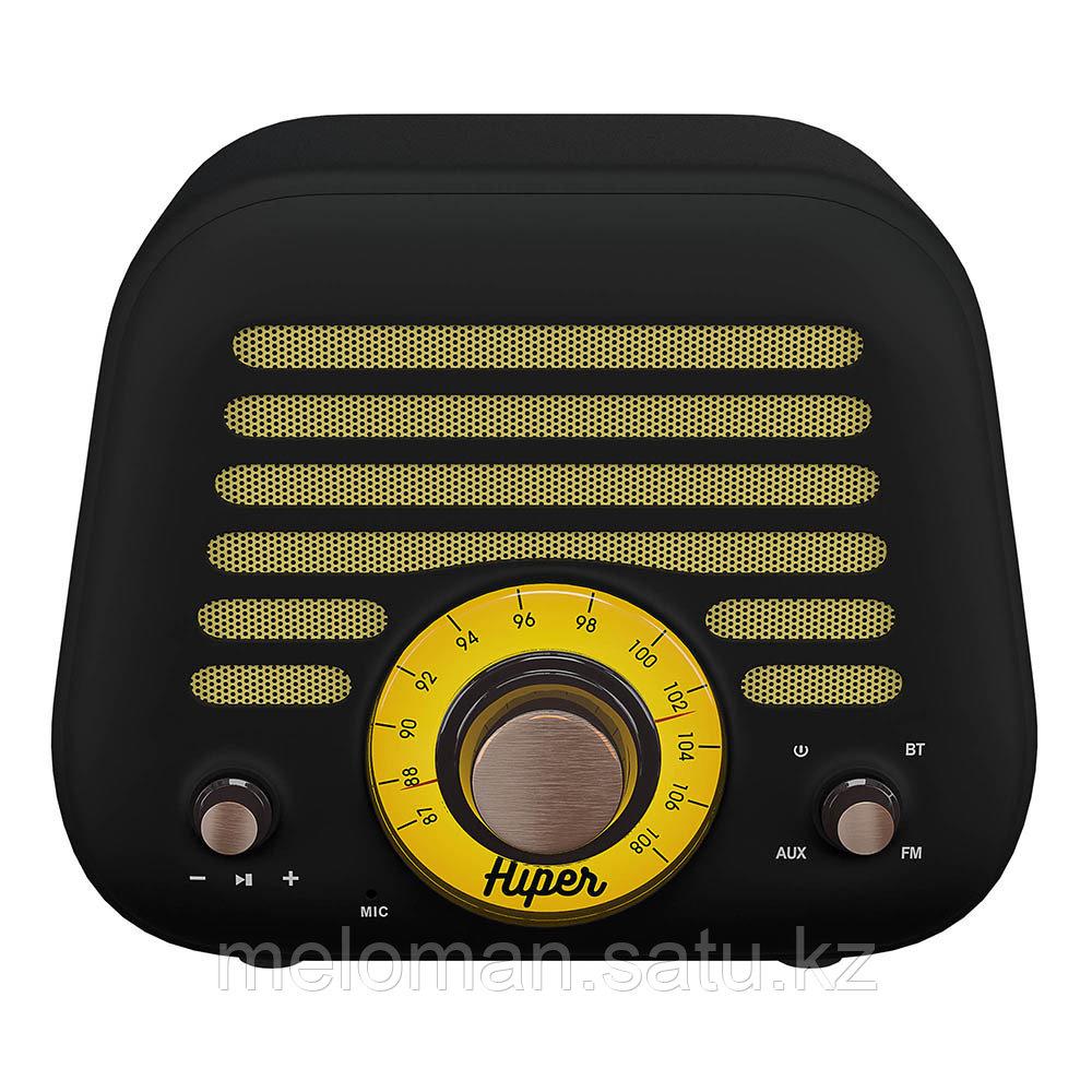 Портативная акустика HIPER RETRO L H-OT5 Black - фото 3