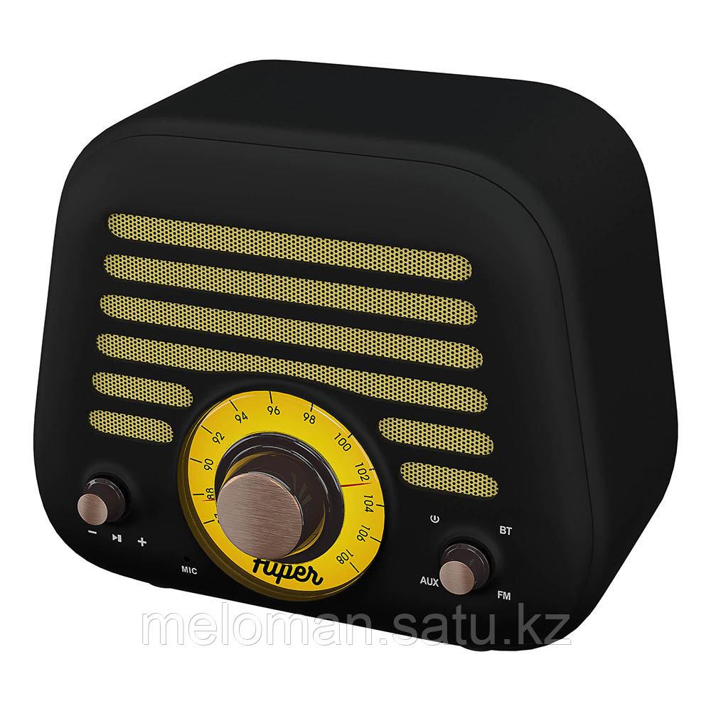 Портативная акустика HIPER RETRO L H-OT5 Black - фото 4