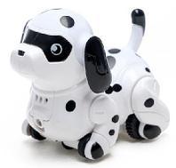 """Робот-собака """"Далматинец"""", световые и звуковые эффекты, ездит по линии 41706"""