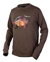 Футболка с длинным рукавом Prologic Born 2 Fish Long Sleeve T-shirt (43912=XXL)