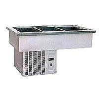Салат-бар холодильный встраиваемый drop-in 3*GN1/1 Kocateq RF3