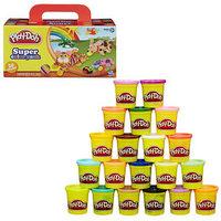 Пластилин Play-doh, набор 20 баночек