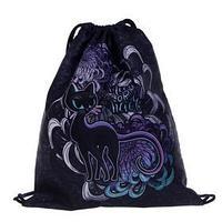 Мешок для обуви 430 х 340 мм, Stavia, для девочки 'Чёрная кошка'