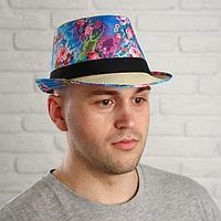 Карнавальная шляпа «Композиция», р-р. 56-58, виды МИКС