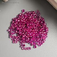 """Бисер """"Астра"""" 11/0, 20 гр (1105 т.розовый/глянц.покрытие)"""