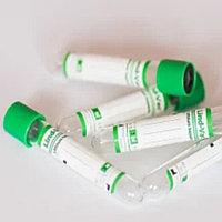 Пробирки вакуумные с наполнителем натрий гепарин Lind-Vac 50шт