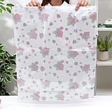 Вакуумный пакет для хранения вещей «Розы», 50×60 см, фото 4