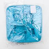 Корзина для хранения с ручками «Мишка», 20×11 см, цвет голубой, фото 5
