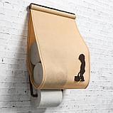 """Панно-органайзер для туалета """"WC-комфорт"""", бежевый, фото 2"""
