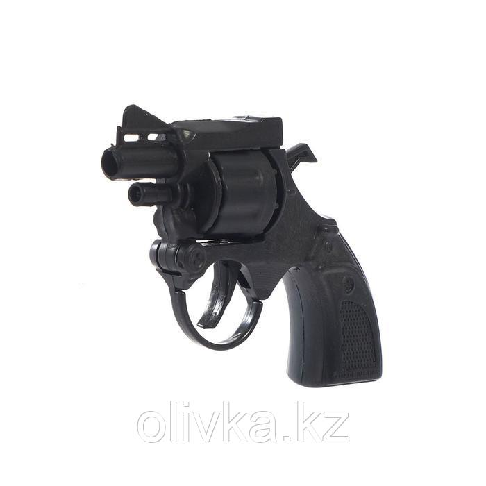 Пистолет «Миниган», стреляет 8-ми зарядными пистонами
