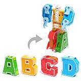 Набор роботов «Робо буквы», трансформируются в динозавров, фото 2