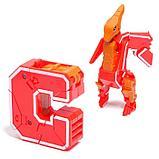 Набор роботов «Робо буквы», трансформируются в динозавров, фото 6