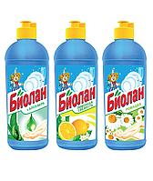 Средство для мытья посуды Биолан, 500мл