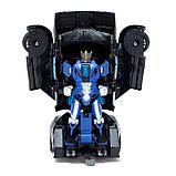 Робот радиоуправляемый «Автобот-боксёр», трансформируется, спорткар, с аккумулятором, заряд от USB, фото 3