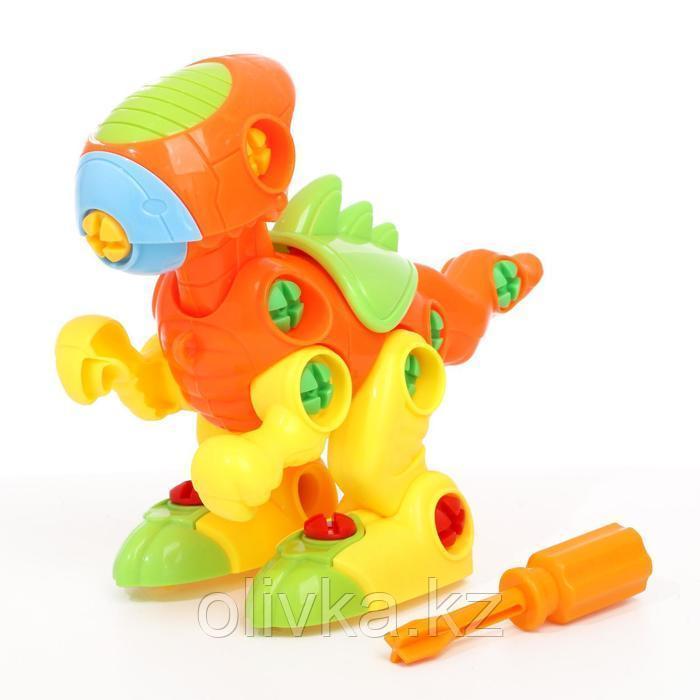 Собираем и играем «Динозаврик», цвета МИКС