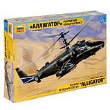 Сборная модель «Российский боевой вертолёт Ка-52 «Аллигатор», МИКС, фото 4