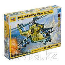 Сборная модель «Советский ударный вертолёт Ми-24 «Крокодил»